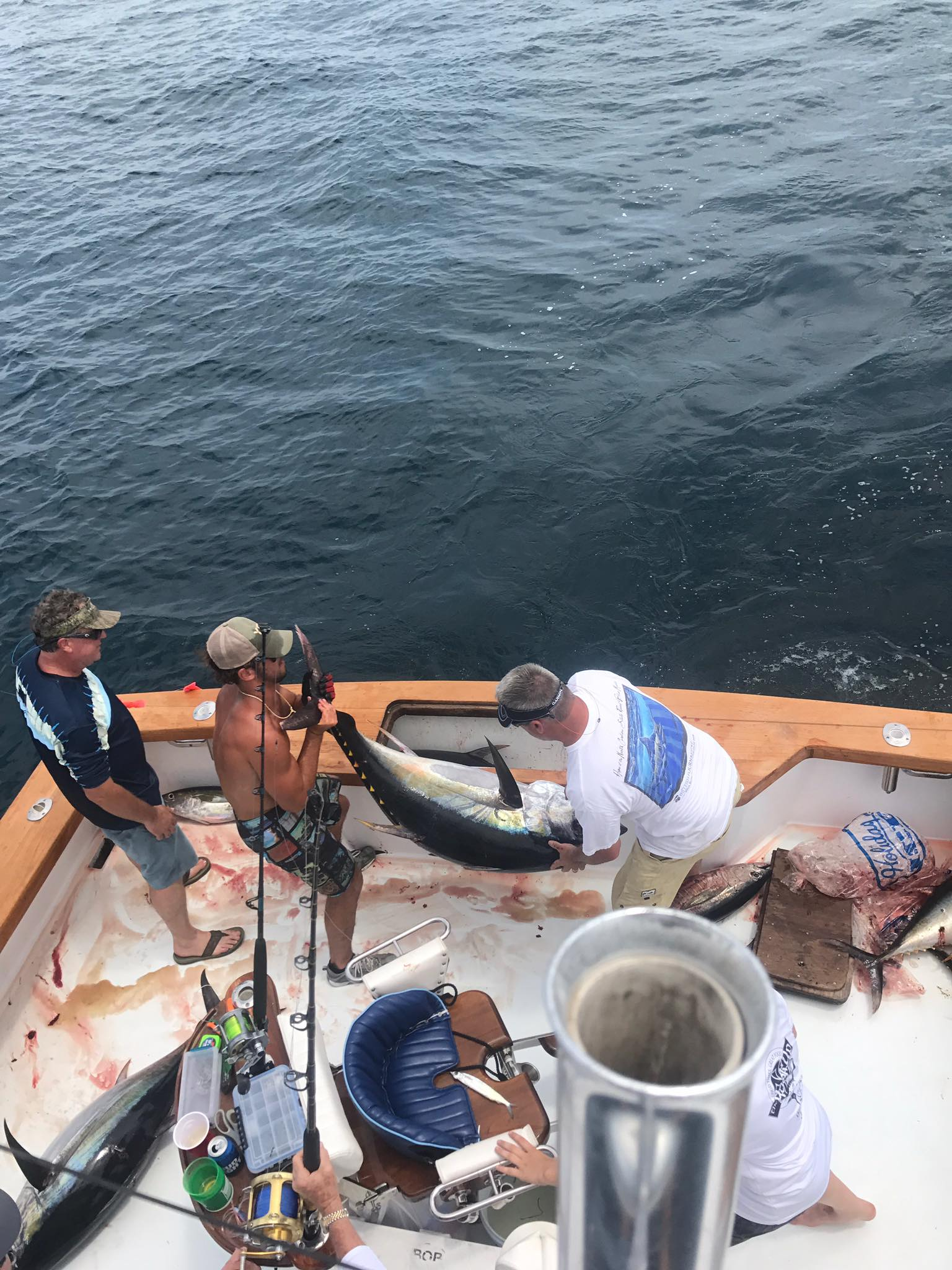 Charter Fishing From Pirates Cove